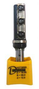 Frez prosty przycinający na płytki wymienne z łożyskiem - D1073899 DIMAR