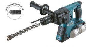 Akumulatorowa młotowiertarka z opcją kucia (2 x 18 V) DHR264Z Makita
