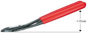 Szczypce tnące boczne o zwiększonym przełożeniu Knipex 200 mm 7421200
