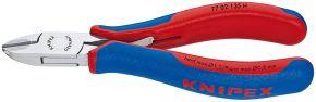 Szczypce tnące boczne dla elektroników z ostrzami z węglików spiekanych Knipex 120 mm 7702135H
