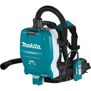Akumulatorowy odkurzacz plecakowy (2 x 18 V) AWS DVC265ZXU Makita