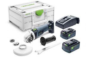Akumulatorowa szlifierka kątowa AGC 18-125 5,2 EB-Plus Festool