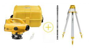 Nivel System EL-32 Niwelator elektroniczny + statyw SJJ1 + łata kodowa TS-5