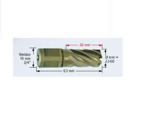 Wiertło trepanacyjne Karnasch GOLD-WELDON 19mm dł.30mm