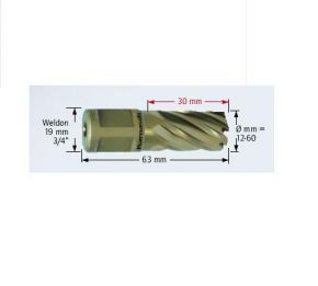 Wiertło trepanacyjne Karnasch GOLD-WELDON 35mm dł.30mm