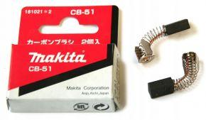 Makita CB51 szczotki węglowe 181021-2 ORYGINAŁ