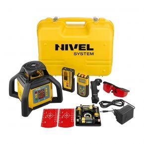 Niwelator laserowy NL610 DIGITAL + Statyw aluminiowy SJJ32 + Łata laserowa LS-24 + System kontroli MC-1D Nivel System