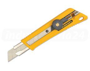 Uniwersalny nóż antypoślizg NOL1 18 mm NOL-1 OLFA