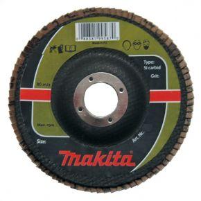 Ściernica płytkowa SILIZIUM KARBID 125x22.23mm K80 Makita