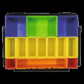 Wkład z kolorowymi pudełkami  do makpac Makita