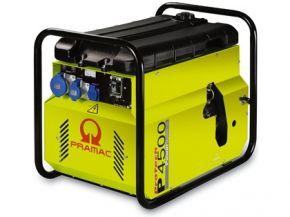 Agregat prądotwórczy jednofazowy Pramac P4500 z zabezp. różnicowo-prądowym i CONN Diesel