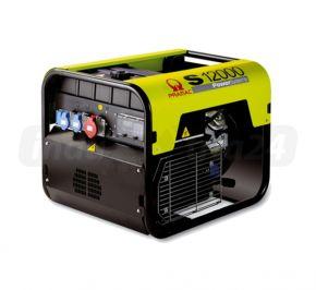 Agregat prądotwórczy jednofazowy Pramac S12000 AVR z zabezp. różnicowo-prądowym i CONN Benzyna
