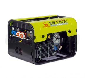 Agregat prądotwórczy trójfazowy Pramac SP12000 z rozruchem elektrycznym Benzyna