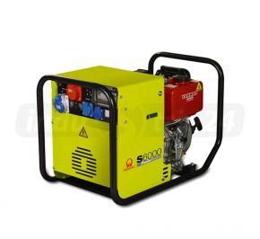 Agregat prądotwórczy trójfazowy Pramac S6000 z zabezp. różnicowo-prądowym i CONN Diesel