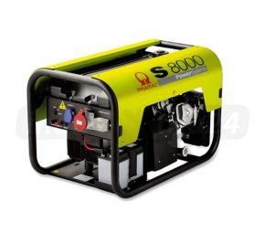 Agregat prądotwórczy jednofazowy Pramac S8000 AVR z zabezp. różnicowo-prądowym i CONN Benzyna