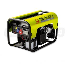 Agregat prądotwórczy trójfazowy Pramac S8000 AVR z zabezp. różnicowo-prądowym i CONN Benzyna
