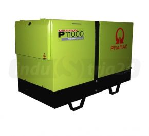 Agregat prądotwórczy trójfazowy Pramac P11000 z zabezp. różnicowo-prądowym Diesel
