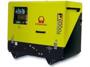 Agregat prądotwórczy jednofazowy Pramac P6000s z zabezp. różnicowo-prądowym i CONN Diesel