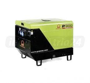 Agregat prądotwórczy trójfazowy Pramac P9000 AVR z zabezp. różnicowo-prądowym i CONN Diesel
