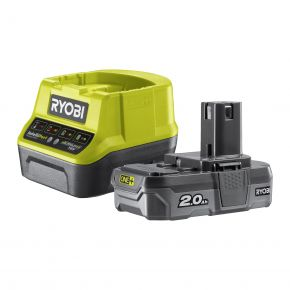RC18120-120 Zestaw akumulator 2.0Ah 18V + ładowarka RC18120-120 Ryobi