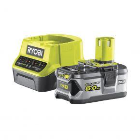 RC18120-150 Zestaw akumulator 5.0Ah 18V + ładowarka RC18120-150 Ryobi