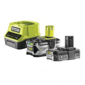 RC18120-242 Zestaw akumulatorów 2.0Ah + 4.0Ah + ładowarka RC1820-242 Ryobi