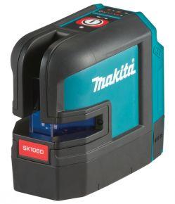 Akumulatorowy laser krzyżowo-punktowy 12 V max (10,8V) CTX (czerwony)   SK106DZ  Makita