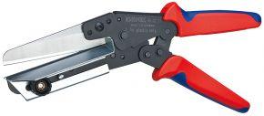 Nożyce do tworzywa sztucznego również do korytek kablowych Knipex 110 mm 950221