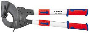 Nożyce do kabli (z mechanizmem zapadkowym) z ramionami teleskopowymi Knipex 630 mm 9532060
