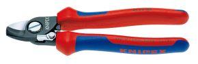 Nożyce do kabli ze sprężyną rozwierającą Knipex 165 mm 9522165