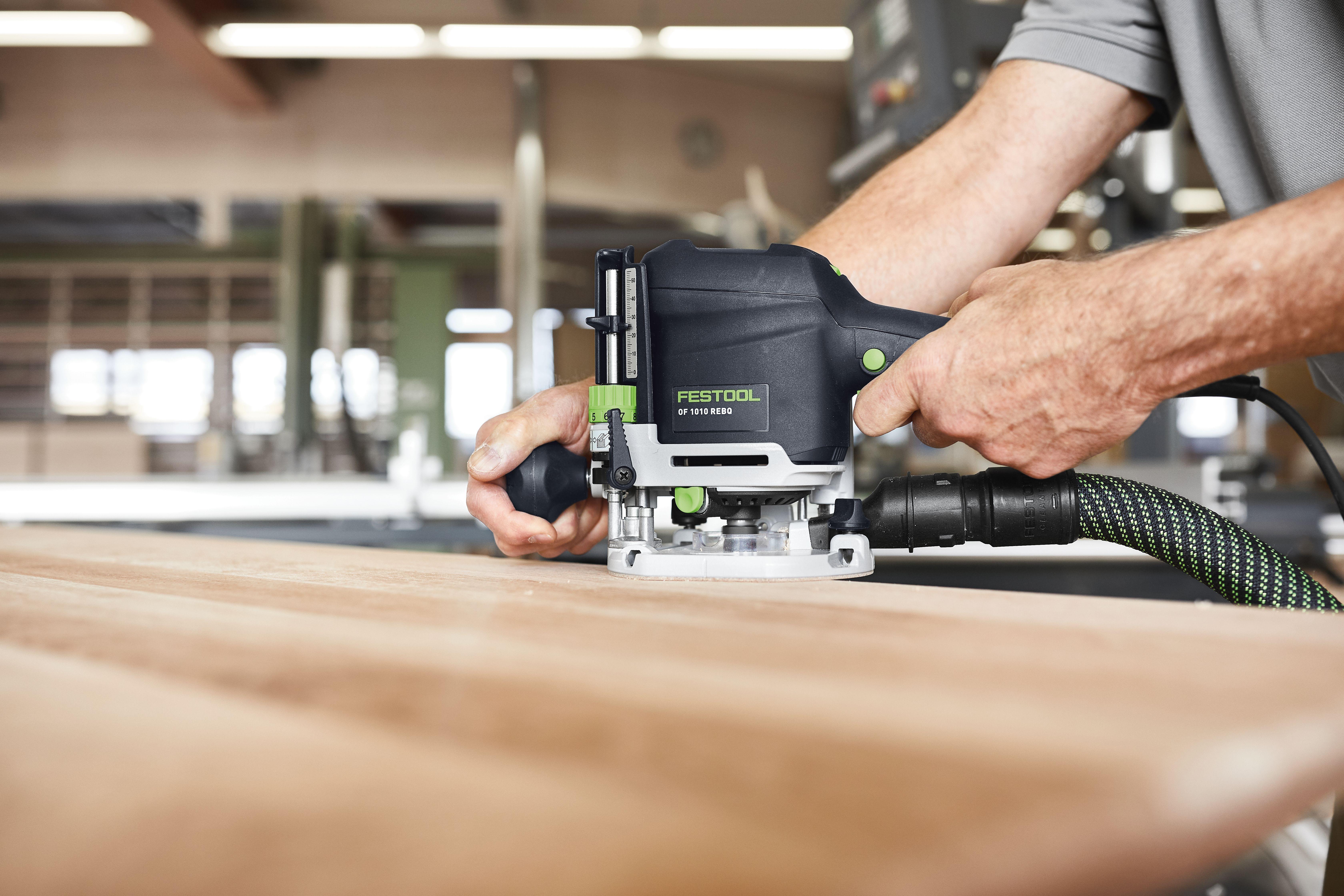 Frezowanie w drewnie – nowe narzędzie Festool OF1010